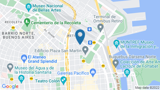 Feir's Park Hotel Map