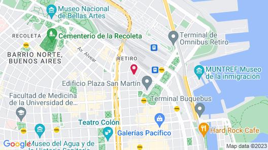 Sofitel Buenos Aires Map