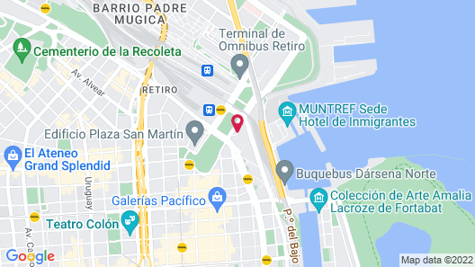Sheraton Buenos Aires Hotel and Convention Center Map