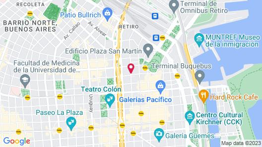 CasaCalma Hotel Map