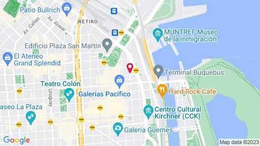 Melia Buenos Aires Hotel & Convention Center Map