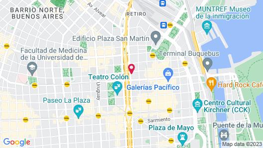 Pestana Buenos Aires Hotel Map