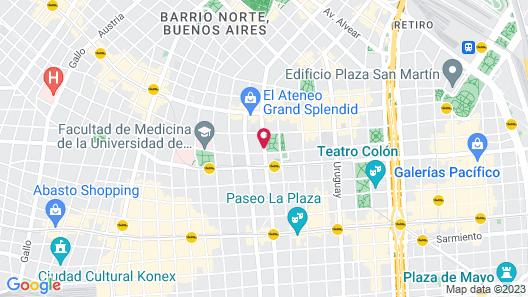 Palladio Hotel Buenos Aires - MGallery Map
