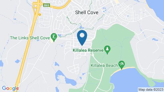 Reflections Holiday Parks Killalea Map