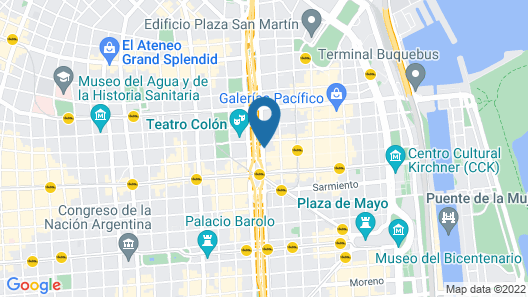 Buenos Aires Marriott Map