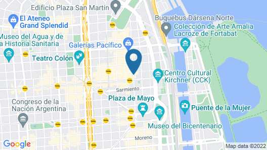 474 Buenos Aires Hotel Map