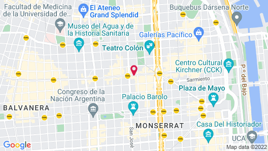 Novotel Buenos Aires Map