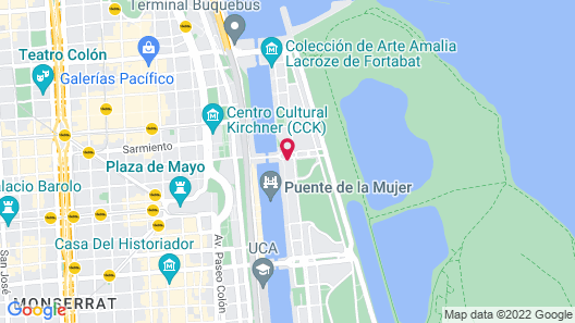 Hilton Buenos Aires Map