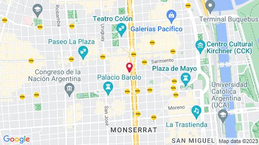 Grand Brizo Buenos Aires Map
