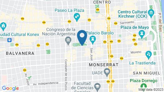 ibis Buenos Aires Congreso Map