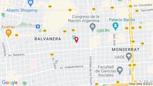 Apassionata Tango Hotel Map