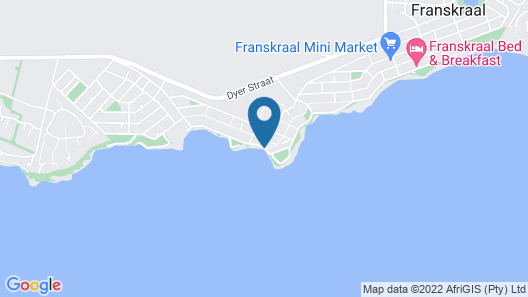 Walkerbay Accommodation Map