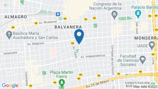 Bet Hotel Map