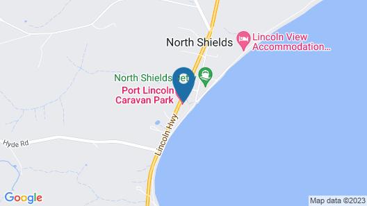 Port Lincoln Caravan Park Map