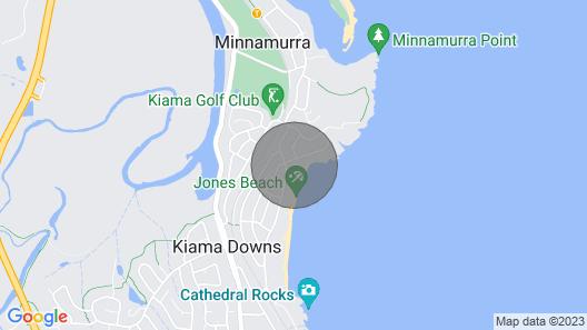 Kiama Downs Absolute Beachfront House Map