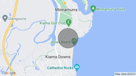 Blue Pelican - pacific views, walk to beach Map