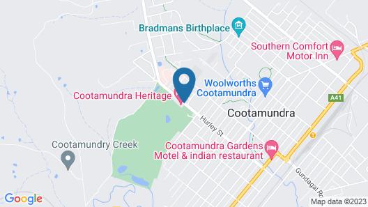 Cootamundra Heritage Motel Map