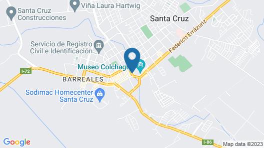 Santa Cruz Plaza Map