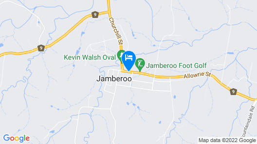 Jamberoo Pub & Saleyard Motel Map