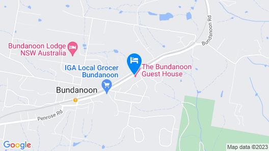 The Bundanoon Guest House Map
