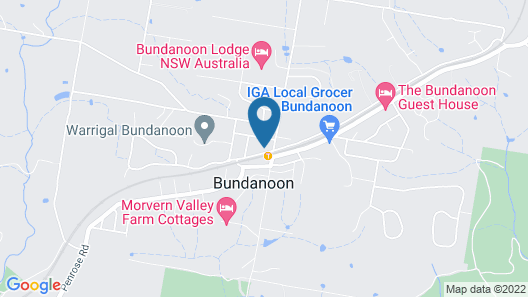 Bundanoon Hotel Map