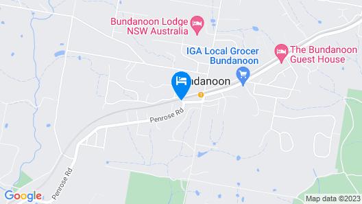 Bundanoon Country Inn Motel Map