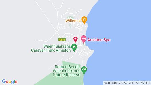 Arniston Seaside Cottages Map