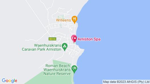 Arniston Spa Hotel Map