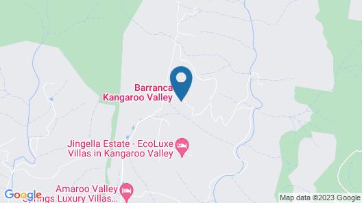 Barranca Kangaroo Valley Map