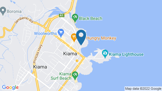 The Sebel Harbourside Kiama Map
