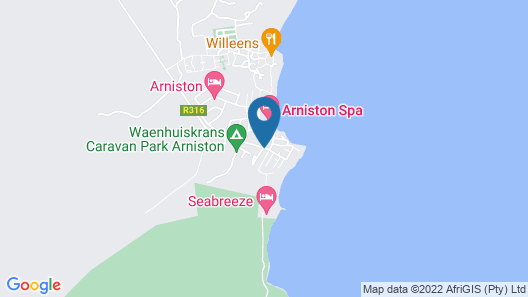 The Dunes at Arniston Map