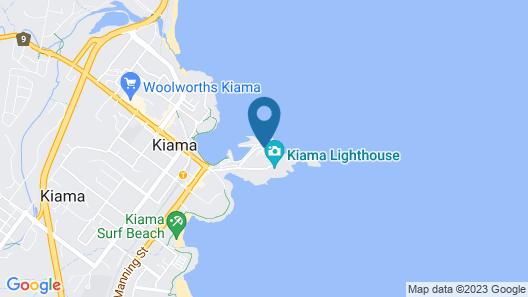 Kiama Harbour Cabins Map