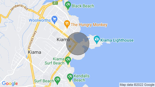 Kiama's Secret Cottage With Private Ocean and Lighthouse Views Map