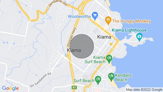 Ocean Breezes: A Cosy Base From Which to Explore all the Treasures of Kiama Map
