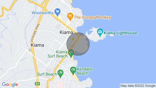 Blue Waves, Kiama - 4pm Check out Sundays! Kiama & Surrounds Map