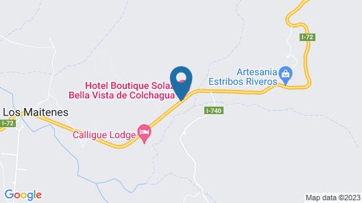 Hotel Boutique Solaz Bella Vista de Colchagua Map