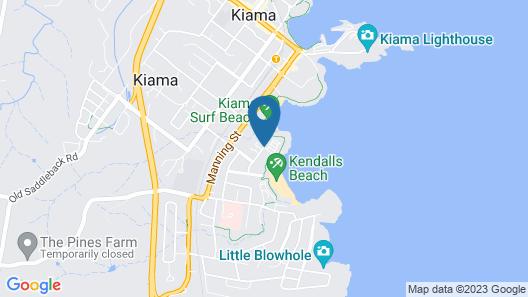 Surf Beach Holiday Park Map