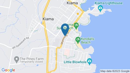 Kiama Motel 617 Map
