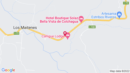 Callihue de Colchagua Lodge Map