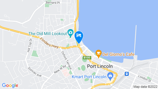 The Port Lincoln Hotel Map