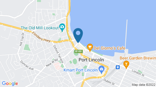Port Lincoln Pier Hotel Map