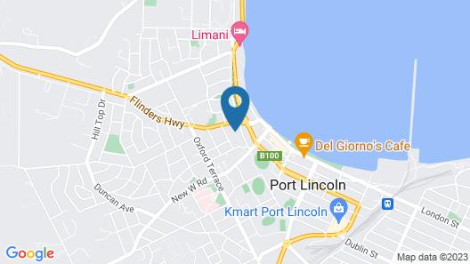 Apartment on Tennyson Map