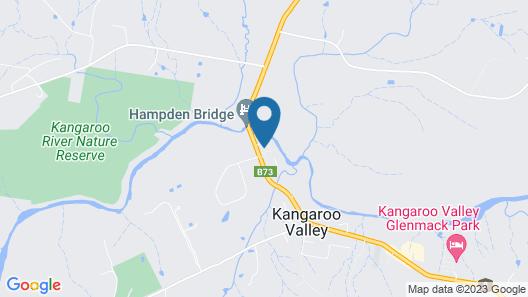 Holiday Haven Kangaroo Valley Map