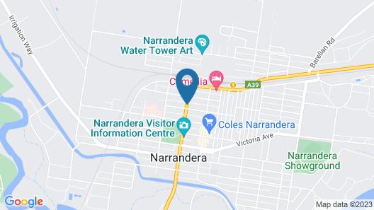 Fig Tree Motel Map
