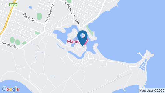 The Marina Hotel Map