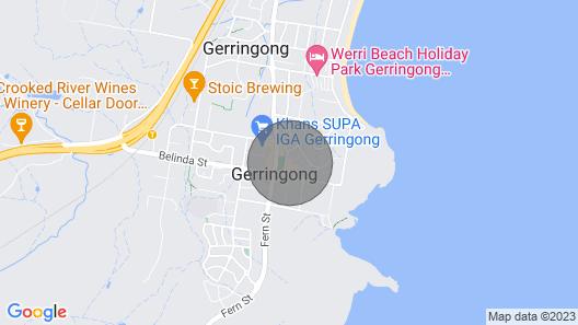 Gerringong Beauty - 102/17 Noble Street Map