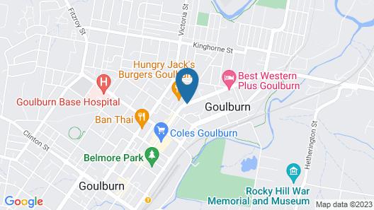 Posthouse MotorLodge Map