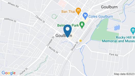 Quest Goulburn Map