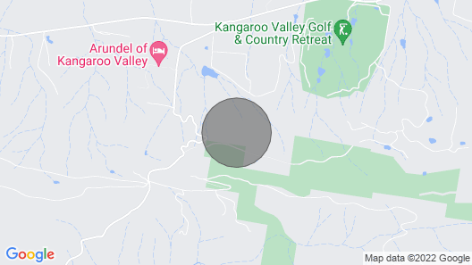 Sky Ridge, Extraordinary Luxury Eco Accommodation Kangaroo Valley Map