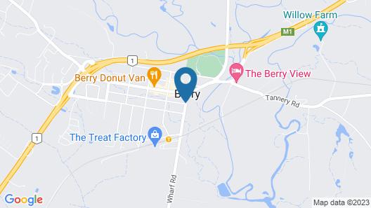 The Berry Inn Map